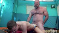 SB – The Scout Ian Setting Up Camp – Ian Levine & Angus Bishop Bareback