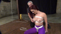 Sarah Purple Crotchrope Inversion