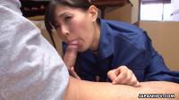 Nozomi Koizumi Blows A Colleague On The Job FullHD 1080p