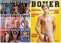 Boner Magazine 1-10 (Boner Das Lustmacher Magazin) (2013-2014)