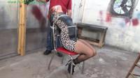 HunterSlair – Angel Rose – Brutal Hair Tied, Chair Tied, Crotch Roped Torment