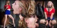 Smoking Hot Blonde Mona Wales Shackled Down