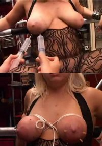 BDSM Injections In Tits