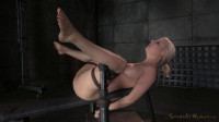 Bdsm HD Porn Videos Busty Blonde Bound And Roughly Fucked By 3 Cocks With Brutal Mess