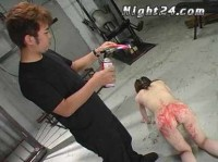 Asian Slut In Rough BDSM