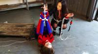 Terra Mizu.. Spidergirl Caught And Unmasked