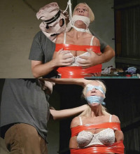 Hard Bondage, Domination, Strappado And Torture For Sexy Blonde (Part 1)