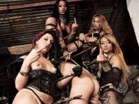 Dark Mistresses And Their Playtoy