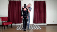 Arielle Lane – Latex Catsuit, Hood, And Posture Collar Hogtie