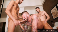 Fostter Riviera, Koldo And Hugh Hunter – 2 Cocks For Hugh Hunter