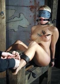 Sexy Blonde Tries Hot BDSM Sex