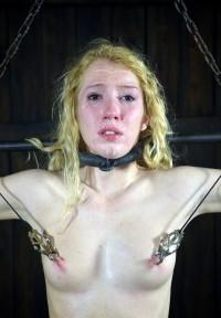 Modest Blonde And Hot BDSM Sex