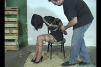 Nyxon Captured Hogcuffed Hogtied Gagged Twice 2part – BDSM, Humiliation, Torture HD 720p