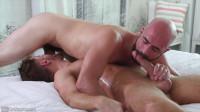 GayRoom – Fat Oiled Cock Jack Andy & Lex Ryan