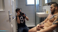 Bentley Race – Behind The Scenes At David Ivan's Speedo Shoot In The Bathroom
