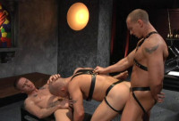 Anal Sanctuary With Muscle Males