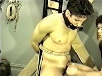 Until He's Roped And Enslaved, The New Lad, Tony Ricco Can't Keep His Mind On His Chores