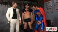 PervOut – ManUpBitches – Superman Double Teamed