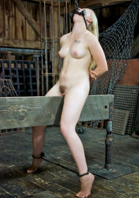 Young Blonde In BDSM