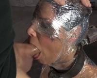 Sexy Syren De Mer Saran Wrapped Mummified