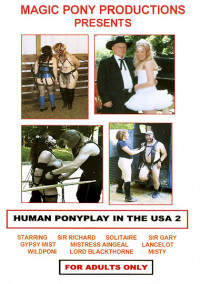 Human Ponyplay In The USA 3