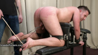 Strapped To A Discipline Bench