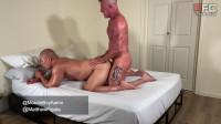 Oiled Muscle Fellows Matthew And Aaron Fuck Bareback