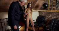 Beauty Slim Chick Punished By Lomp