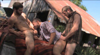 Outdoor Sex With Muscle Cowboys