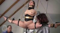 Bondage, Domination, Strappado And Torture For Horny Slavegirl Full HD