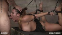 Sexy Girl Next Door Has Her First Bondage And Rough Sex Experience, Gets Destroyed By Cock