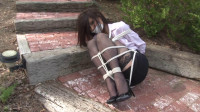 High-Heeled Secretary Bound Outdoors – Ashley Renee