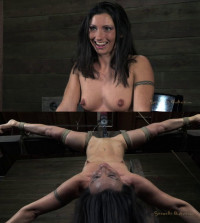 Bondage, Strappado, Spanking And Torture For Hot Sexy Brunette