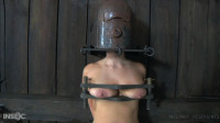 Tight Restraint Bondage, Spanking And Pain For Undressed Blond Part 2