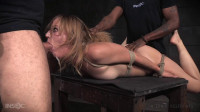 Mona Wales BaRS Show Continues With Rope Bondage And Rough Sex, Messy Drooling Deepthroat