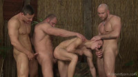 The Trusting Boy Was Fucked By Three Guys