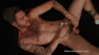 Alternadudes – Hairy Tatted Cub Self Sucks And Shoots His Own Cum