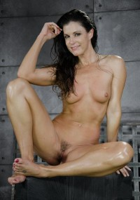Fit MILF India Summer Shackled Down And Used Hard By Two Cocks At Once , HD 720p