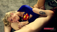 Aubrey Kate Supergirl Rescues Aaron