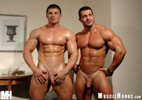 MuscleHunks – Arkady Zadrovich And Uberto Ugo