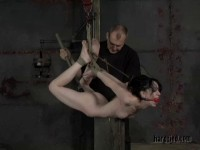 Predicament Bondage Pits Pain Against Pleasure As Arachnia Fucks