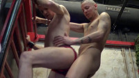 The Wench David Screwed Raw By Top Latino Dominant