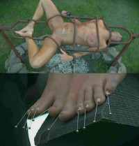 Hell Barbecue With Slave