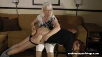 Momma Spanking Spanking Teen FemDom Part Two