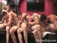 Bric, Dustin, Nick, Rusty & Zander