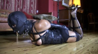 Super Restraint Bondage, Hog Tie And Domination For Pretty Dark Brown Full HD 1080p