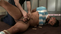 Liam – Tied In Football Kit, Nipps Pegged Made To Fuck