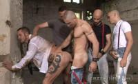 Muscle Fanatics In Raw Gangbang