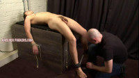 Sergei – Stripped, Bound, Legs Chained, Gagged, Spanked, Flogged