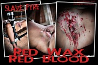 Slave Fyre Red Wax Red